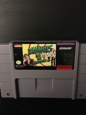 SNES Zombies Ate My Neighbors for Sale in San Diego, CA
