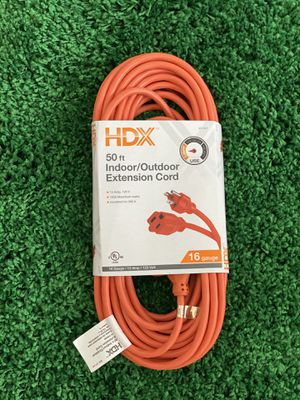 HDX 50 ft Indoor/Outdoor Extension Cord $10 Brand New for Sale in Pembroke Pines, FL