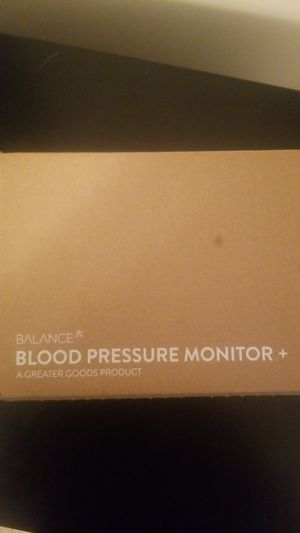 Balance Blood Pressure Monitor- Brand New for Sale in Washington, DC