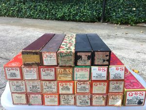 Player piano rolls- 24 in all for Sale in Charlotte, NC