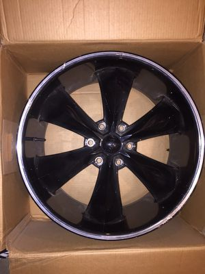 ONE...22x9.5 black wheel for Sale in St. Louis, MO