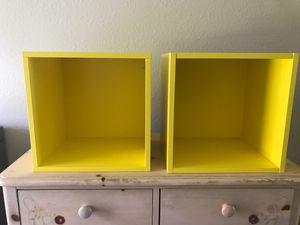 2 Cubed wall shelves for Sale in VLG WELLINGTN, FL