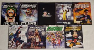 Lot Of 9 Nintendo Power Magazines Vol. 150, 151, 152, 153, 155, 156, 157, 158, 159 for Sale in St. Petersburg, FL