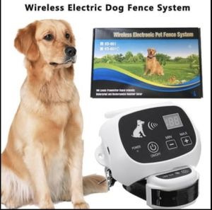 Wireless Electronic Pet Fence for Sale in Rolesville, NC