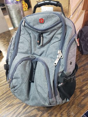 Swiss Gear gray laptop backpack for Sale in Tacoma, WA
