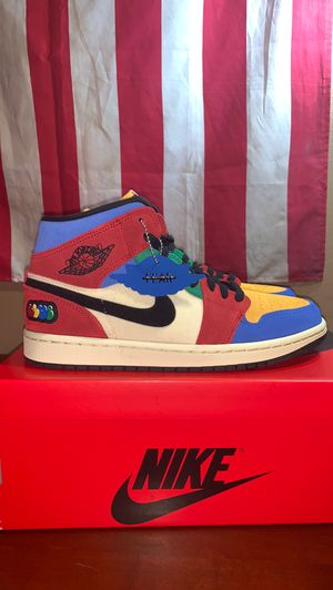"""NIKE AIR JORDAN 1 MID SE FRLS NA """"BLUE THE GREAT"""" LIMITED EXCLUSIVE for Sale in Miami, FL"""