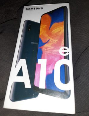 Samsung Galaxy A10e NEW for Sale in Westville, NJ