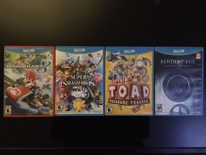 Nintendo Wii U Video Game Bundle for Sale in Dover, PA