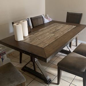 Dinner Table And 6 Chairs for Sale in Riverside, CA