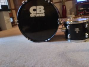 Used CB drums 2 set. (Bass drum and snare) also 2 drum heads for Sale in Jonesboro, GA