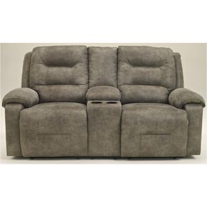 Ashley Furniture Rotation - Smoke Double Recliner Loveseat With Console - Smoke for Sale in Franklin, TN