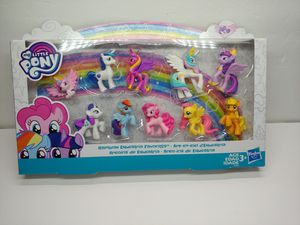 My Little Pony Toy Rainbow Equestria Favorites 10 Figure Collection Brand New for Sale in Santa Ana, CA