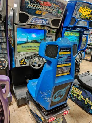 Need for Speed GT Full Size Racing Arcade - 𝐈𝐅 𝐘𝐎𝐔 𝐒𝐄𝐄 𝐌𝐘 𝐀𝐃, 𝐈𝐓𝐒 𝐒𝐓𝐈𝐋𝐋 𝐀𝐕𝐀𝐈𝐋𝐀𝐁𝐋𝐄 for Sale in Goodyear, AZ