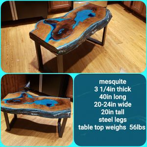 Mesquite coffee table for Sale in Abilene, TX