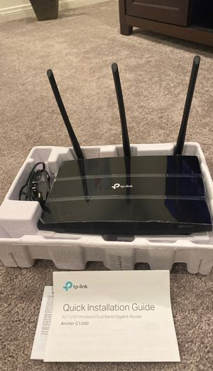 TP Link AC1200 Dual Band Gigabit Router for Sale in New York, NY