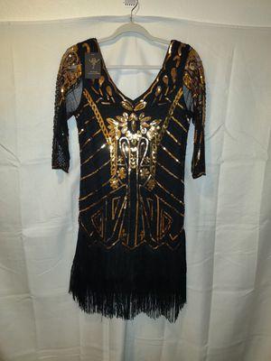 Vijiv Women's 1920's Flapper Dress for Sale in Las Vegas, NV