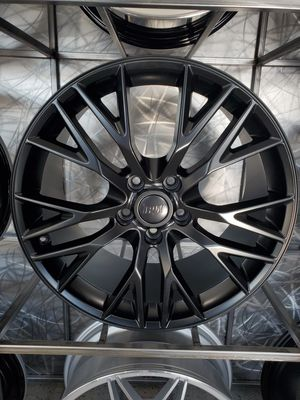 PRICE PER WHEEL 19 & 20 Corvette Z06 Style wheels matte black rims for Sale in Tempe, AZ