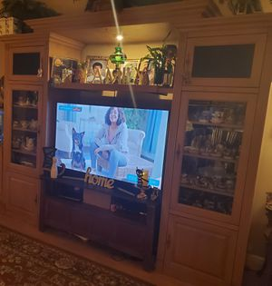 Entertainment Center wall unit ONLY $75!!!! HURRY! for Sale in Boynton Beach, FL