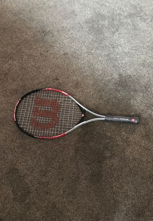 A brand new Wilson tennis racket for Sale in Bakersfield, CA