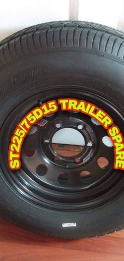 "NEW TRAILER TIRE SIZE 15"" 6 LUGS HEAVY DUTY for Sale in Los Angeles,  CA"