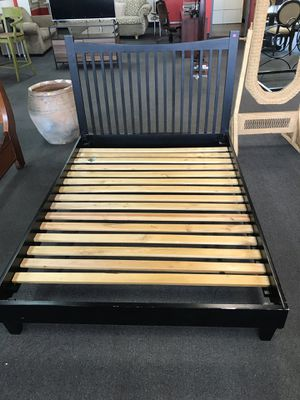 Black Bed Frame for Sale in Modesto, CA