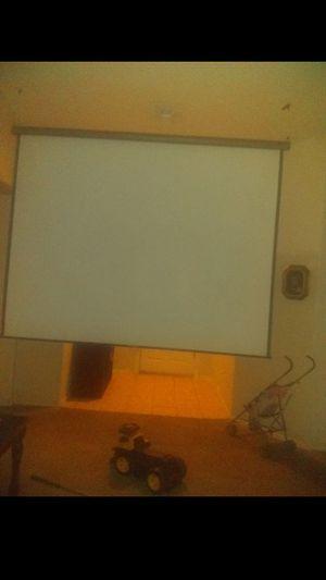 Projector screen for Sale in Phoenix, AZ