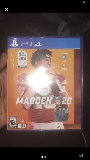 Madden 20 for Sale in Washington, DC