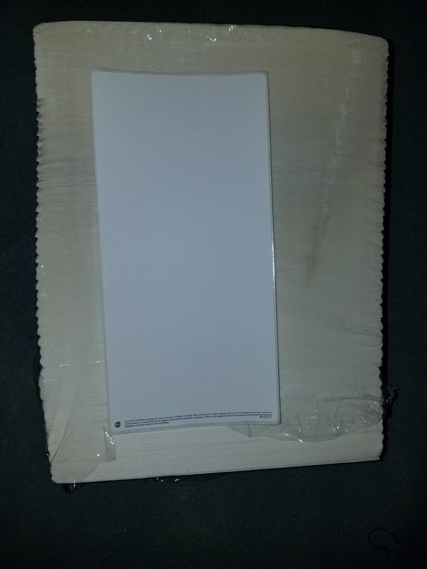 4x8 IN. WHITE SHIPPING LABELS.BLANK