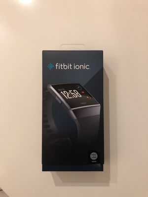 Fitbit Ionic smart watch factory sealed for Sale in Playa del Rey, CA