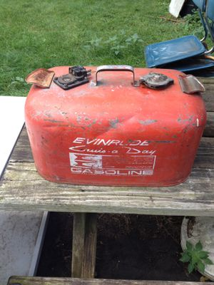 Vintage Outboard Boat motor gas can for Sale in Rolling Meadows, IL