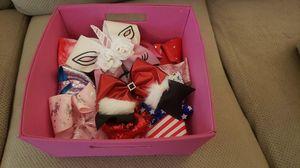 Basket of Jojo bows for Sale in Spring Grove, IL