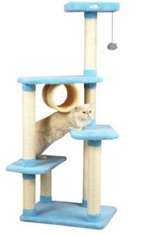 Cat tower sky blue - unopened box for Sale in Miami, FL