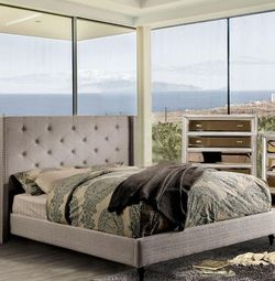 EASTERN KING BED FRAME AND MATTRESS INCLUDED for Sale in Carson,  CA
