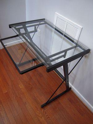 LIKE NEW Glass Desk! for Sale in Midlothian, VA