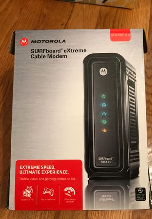 Motorola Surfboard eXTreme cable modem SB6121 for Sale in Rockville, MD