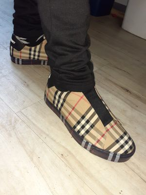 Burberry Sneakers size 8.5 for Sale in Philadelphia, PA