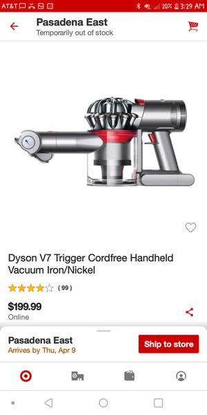 Dyson v7 trigger for Sale in Pasadena, CA