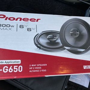 """Pioneer 6.5"""" 2 Way Speakers Brand New for Sale in El Cajon, CA"""