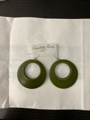 Charlotte Russe Olive Green Earrings for Sale in Temple City, CA