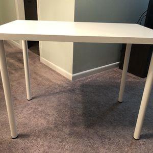 IKEA White Linnmon/Adils Desk for Sale in Walkersville, MD