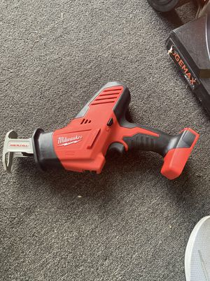 Milwaukee M18 18-Volt Lithium-Ion Cordless Hackzall Reciprocating Saw (Tool-Only) for Sale in Anaheim, CA