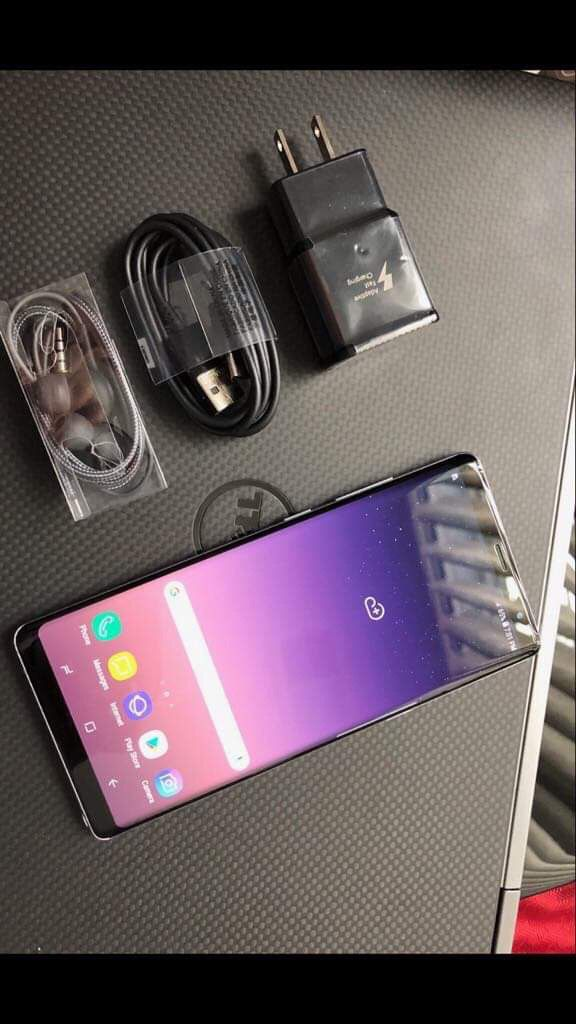 Samsung Galaxy note8- Excellent Condition + clean IMEI