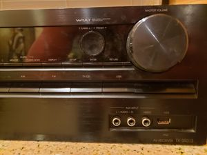 Onkyo Stereo Receiver TX-SR313 for Sale in Manteca, CA