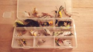 Fly lures 32 or 35 lures for Sale in Sunbury, OH