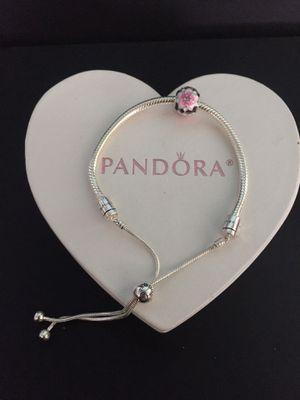 Authentic Pandora slide charm bracelet for Sale in Albertville, AL