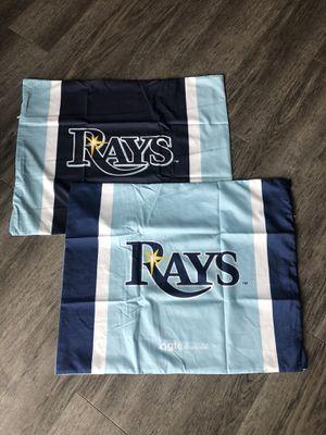 Tampa Bay Rays MLB baseball pillowcase set for Sale in Tampa, FL