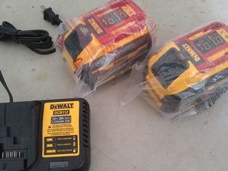 Dewalt Flexvolt Battery 60v 9a With Charger for Sale in Tukwila,  WA