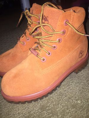 Orange size13 kids timberlands for Sale in Washington, DC