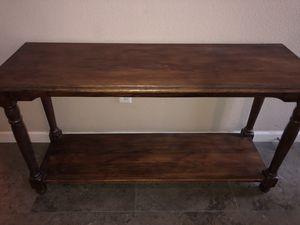 Oak Entry Way Table for Sale in Selma, CA