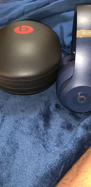 Beats 3 studio wireless headphones (navy) for Sale in St. Louis, MO